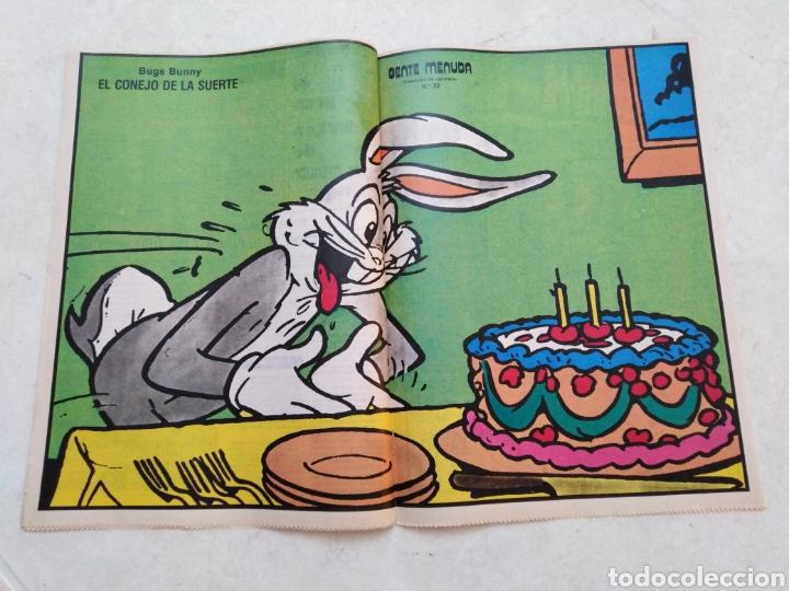 Cómics: Lote de 39 Gente menuda , suplementos de historietas de los domingos de Abc ( TODOS TRAEN PÓSTER ) - Foto 37 - 261281160