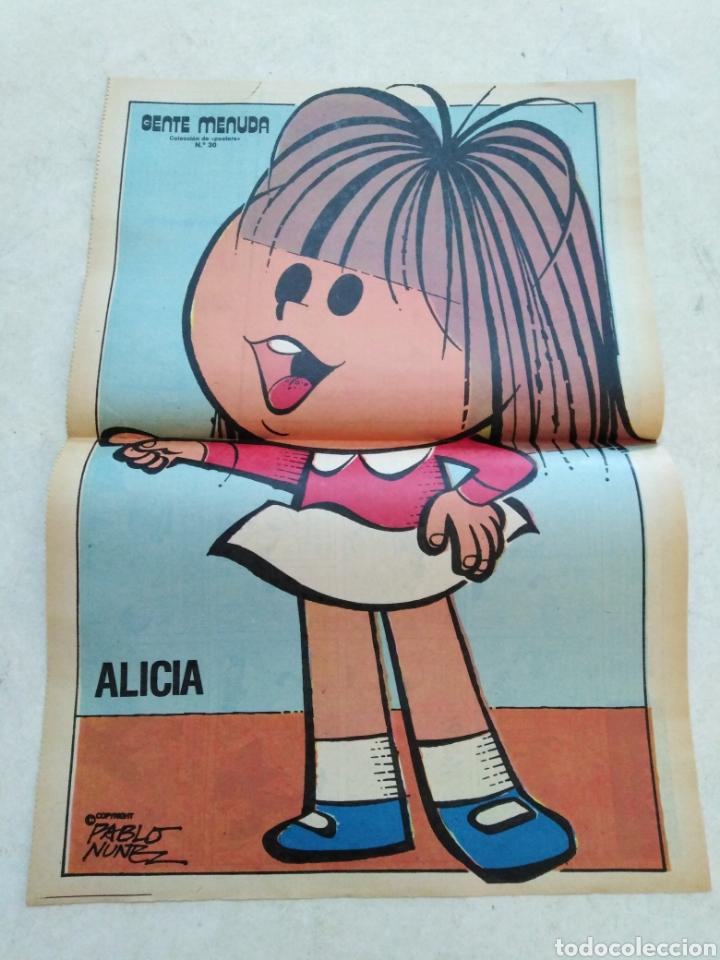 Cómics: Lote de 39 Gente menuda , suplementos de historietas de los domingos de Abc ( TODOS TRAEN PÓSTER ) - Foto 53 - 261281160