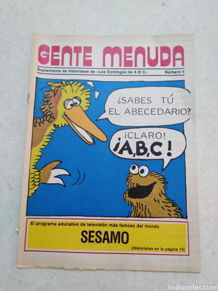 Cómics: Lote de 39 Gente menuda , suplementos de historietas de los domingos de Abc ( TODOS TRAEN PÓSTER ) - Foto 58 - 261281160