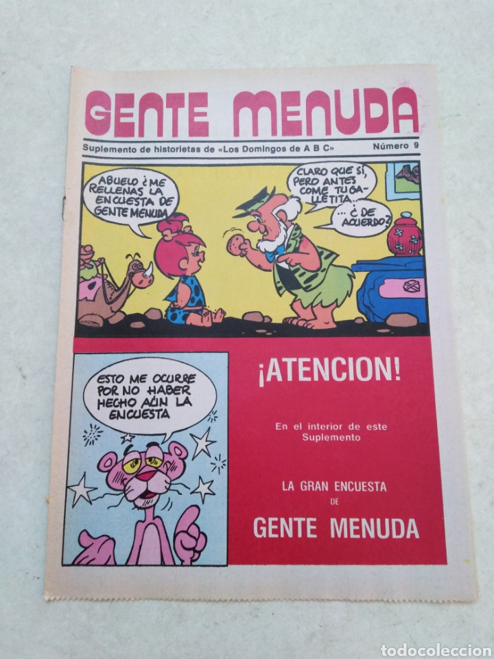 Cómics: Lote de 39 Gente menuda , suplementos de historietas de los domingos de Abc ( TODOS TRAEN PÓSTER ) - Foto 68 - 261281160
