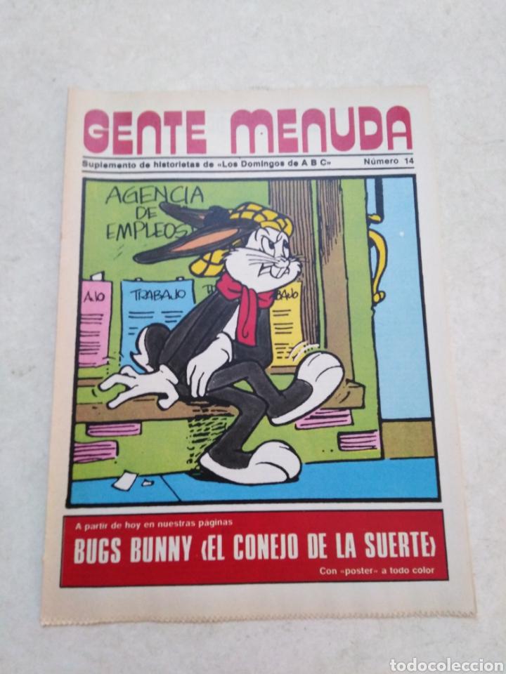 Cómics: Lote de 39 Gente menuda , suplementos de historietas de los domingos de Abc ( TODOS TRAEN PÓSTER ) - Foto 74 - 261281160