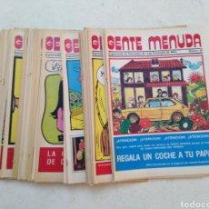 Cómics: LOTE DE 39 GENTE MENUDA , SUPLEMENTOS DE HISTORIETAS DE LOS DOMINGOS DE ABC ( TODOS TRAEN PÓSTER ). Lote 261281160