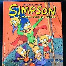 Cómics: 2 COMICS DE LOS SIMPSON TAPA DURA. Lote 262114445