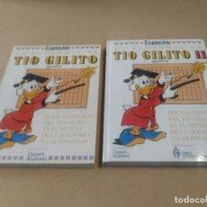 Cómics: LA ECONOMÍA DE TÍO GILITO - TOMOS I Y II. Lote 263547165