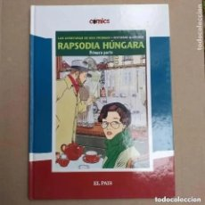 Cómics: RAPSODIA HUNGARA. PRIMERA PARTE. FRIDMAN GIARDINO. EL PAIS. Lote 264729369