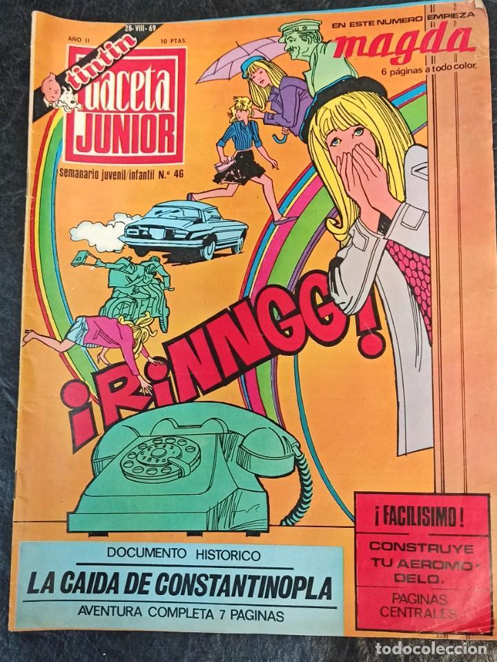 GACETA JUNIOR. N° 46.1969 (Tebeos y Comics - Suplementos de Prensa)