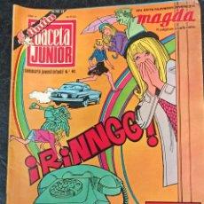 Cómics: GACETA JUNIOR. N° 46.1969. Lote 265705344