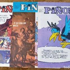Cómics: PIÑON Nº 19, 30 Y 34 (MAGISTERIO ESPAÑOL 1971/72) 3 TEBEOS.. Lote 243475050