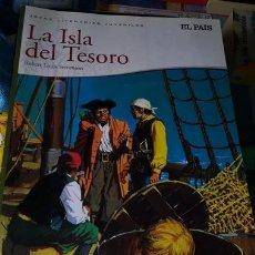 Cómics: LA ISLA DEL TESORO. COMIC JUVENIL SUPLEMENTO DEL DIARIO EL PAIS. Lote 267543619