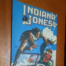Cómics: LOS COMICS DEL SOL INDIANA JONES 15. GRAPA. SUPLEMENTO DE PERIÓDICO. BUEN ESTADO.. Lote 268896374