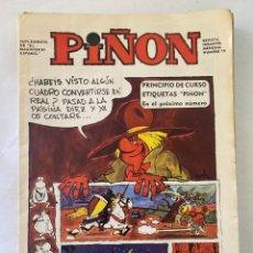 Cómics: REVISTA INFANTIL PIÑON 19 AÑO 1968. Lote 275686578