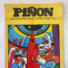 Cómics: REVISTA INFANTIL PIÑON 60 MARZO 1975. Lote 275694523