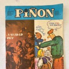 Cómics: REVISTA INFANTIL PIÑON 30 NAVIDAD 1971. Lote 275694878