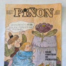 Cómics: REVISTA INFANTIL PIÑON 24 MARZO 1971. Lote 275695643