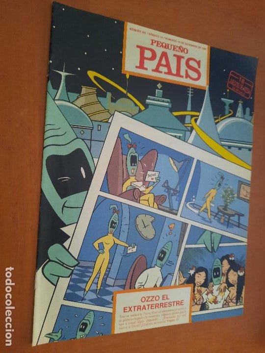 EL PEQUEÑO PAÍS 524. SUPLEMENTO EL PAÍS. GRAPA. BUEN ESTADO (Tebeos y Comics - Suplementos de Prensa)