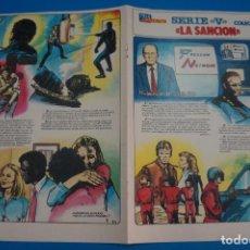 Cómics: COMIC DE SERIE V COLECCIONABLE LA SANCION CAPITULO 9 DE TELE INDICRESTA. Lote 278187613