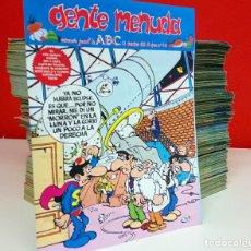 Cómics: GENTE MENUDA. UNOS 300 NÚMEROS, DESDE DIC DE 1992 A FEB DE 1999. ABC. Lote 278475398
