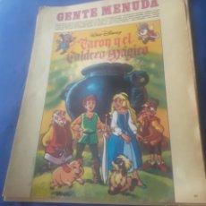Cómics: LOTE 14 SUPLEMENTO DOMINICAL DEL ABC DE LOS DOMINGOS GENTE MENUDA, CON COMIC Y PASATIEMPOS. Lote 283199563