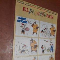 Cómics: EL PEQUEÑO PAÍS 756. SUPLEMENTO EL PAÍS. GRAPA. BUEN ESTADO. Lote 287037443