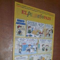 Cómics: EL PEQUEÑO PAÍS 754 SUPLEMENTO EL PAÍS. GRAPA. BUEN ESTADO. Lote 287037603