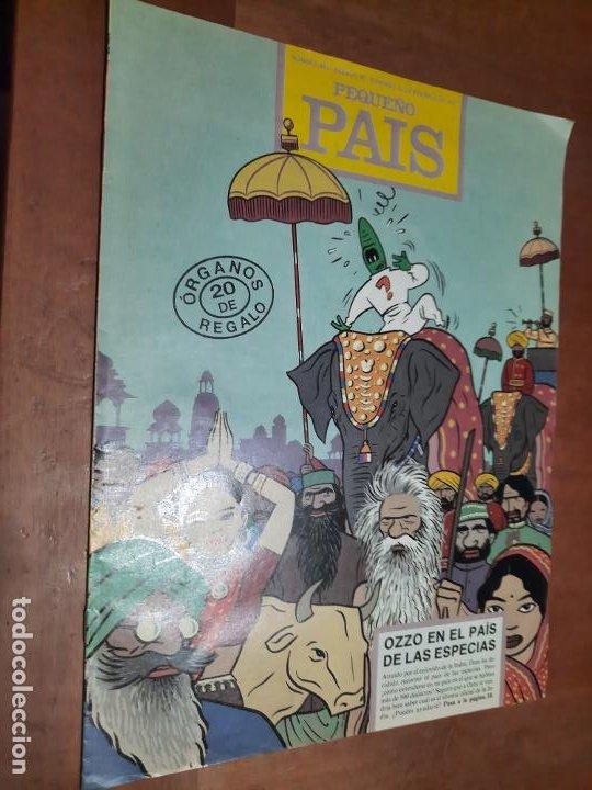 EL PEQUEÑO PAÍS 482 SUPLEMENTO EL PAÍS. GRAPA. BUEN ESTADO (Tebeos y Comics - Suplementos de Prensa)