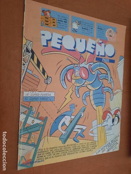 EL PEQUEÑO PAÍS 565 SUPLEMENTO EL PAÍS. GRAPA. BUEN ESTADO (Tebeos y Comics - Suplementos de Prensa)