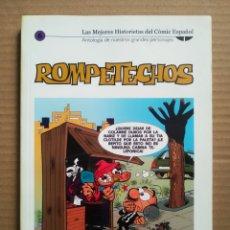 Cómics: LAS MEJORES HISTORIETAS DEL CÓMIC ESPAÑOL N°6: ROMPETECHOS (BIBLIOTECA EL MUNDO, 2005).. Lote 289599458