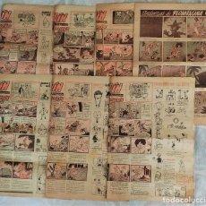 Fumetti: LOTE 7 NÚMEROS DEL SUPLEMENTO INFANTIL LAPICERÍN DEL DIARIO LA JORNADA DE VALENCIA AÑOS 1954-55. Lote 291959298