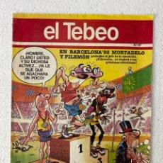 Cómics: EL TEBEO #67 - BARCELONA 92 - MORTADELO. Lote 295353223