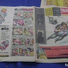 Cómics: SUPLEMENTO REVISTA PARQUE DE LOS PRIMEROS VER FOTOS PARA IDENTIFICAR CJ 3. Lote 295362923