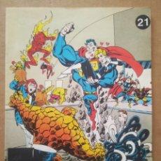 Cómics: LOS CÓMICS DE EL SOL N°21: WHAT THE...? SUPERBMAN VS. THE FANTASTICAL FOUR, POR JOHN BYRNE (1990).. Lote 295590343