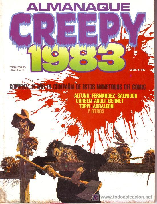 ALMANAQUE CREEPY 1983 (Tebeos y Comics - Toutain - Creepy)