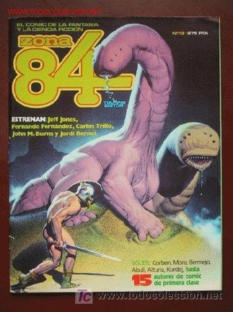'ZONA 84', Nº 13. TOUTAIN EDITOR. 1985. (Tebeos y Comics - Toutain - Zona 84)