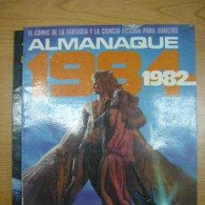 Cómics: 1984, ALMANAQUE DE 1982, TOUTAIN EDICIONES. Lote 3996822
