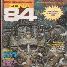 Comics : ZONA 84 Nº 84 OCHENTA Y CUATRO EDITA : TOUTAIN. Lote 4443159