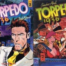 Cómics: TORPEDO TOUTAIN EDITOR -ABULI Y JORDI BERNET- NºS 2,3,4,5 Y7 -1988-10 E UNIDAD ARMARIO ISA 2ª FILA F. Lote 25739865