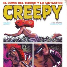 Cómics: CREEPY Nº 56. EL CÓMIC DEL TERROR Y LO FANTÁSTICO. Lote 5799292