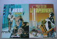 LA SUPERVIVIENTE. LOTE 2 COMICS CON Nº 1 Y 2. C1376 (Tebeos y Comics - Toutain - Otros)