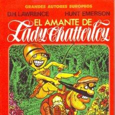 Cómics: EL AMANTE DE LADY CHATTERLEY. COLECCIÓN GRANDES AUTORES EUROPEOS. TOUTAIN EDITOR. Lote 25520299