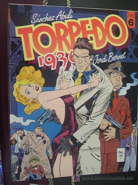 TORPEDO 1936. TOMO 6. BERNET Y ABULÍ (Tebeos y Comics - Toutain - Otros)