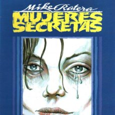 Cómics: MUJERES SECRETAS - MIKE RATERA - TOUTAIN EDITOR - 1991. Lote 23058298