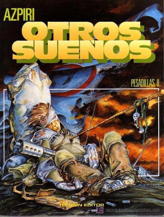 OTROS SUEÑOS, PESADILLAS II - AZPIRI - TOUTAIN EDITOR (Tebeos y Comics - Toutain - Otros)