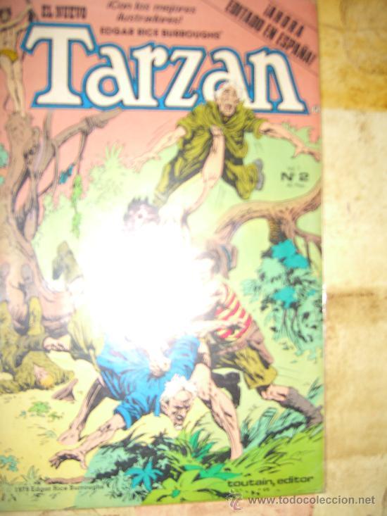 TARZAN. NUMERO 2. VOL 1.TOUTAIN EDITOR.IMPECABLE CJ 4 (Tebeos y Comics - Toutain - Otros)