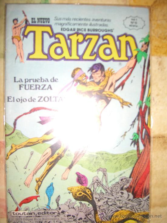 TARZAN. NUMERO 6. VOL 1. TOUTAIN EDITOR.IMPECABLE.LA PRUEBA DE FUERZA Y EL OJO DE ZOLTAR CJ 4 (Tebeos y Comics - Toutain - Otros)