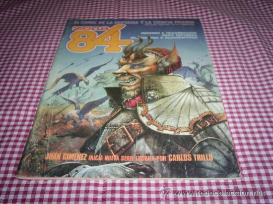ZONA 84 NUMERO 17 (Tebeos y Comics - Toutain - Zona 84)
