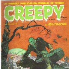 Cómics: CREEPY - TARDE O TEMPRANO *** Nº 2 1979. Lote 11910599