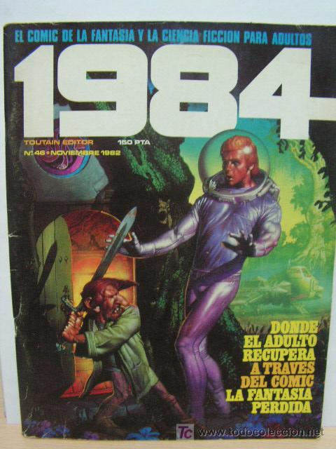 + 1984 TOUTAIN EDITOR . NUMERO 46 NOVIEMBRE 1982 (Tebeos y Comics - Toutain - 1984)
