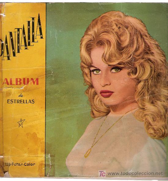 PANTALLA. ÁLBUM DE ESTRELLAS. FERCA 1962. VACÍO. (Tebeos y Comics - Toutain - Álbumes)