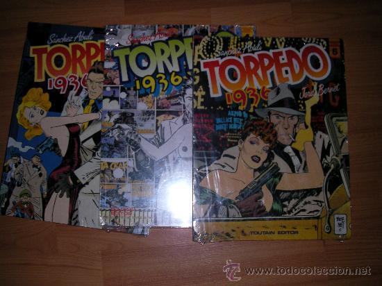 TORPEDO. JORDI BERNET 4 5 Y 6. SUELTOS A 10 EUROS NUEVOS SIN DESPRECINTAR TOUTAIN (Tebeos y Comics - Toutain - Otros)