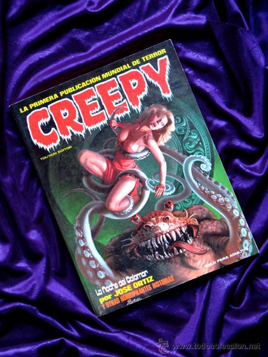 CREEPY (Tebeos y Comics - Toutain - Creepy)